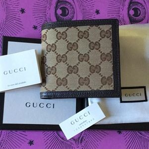 Brand new GUCCI Men's classic GG wallet $420